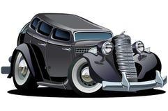 вектор шаржа автомобиля ретро иллюстрация вектора
