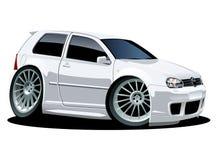 вектор шаржа автомобиля самомоднейший иллюстрация вектора