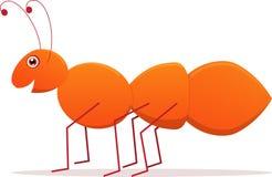 вектор шаржа муравея милый Стоковое Фото