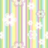 вектор шва цветов Стоковое Фото