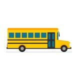 Вектор школьного автобуса Стоковое Изображение RF