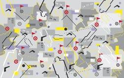 вектор шпионки предпосылки Стоковые Изображения RF