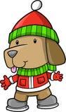 вектор щенка праздника собаки Стоковые Изображения