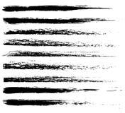 вектор щеток Стоковые Фотографии RF