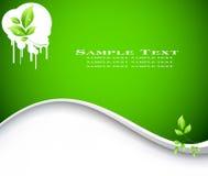 вектор экологичности предпосылки Стоковые Фотографии RF