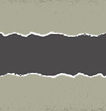 вектор элемента конструкции сорванный бумагой Стоковая Фотография RF