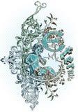 вектор эмблемы Стоковое Изображение RF