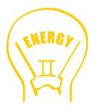 вектор энергии Стоковые Изображения RF