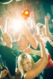 вектор людей партии иллюстрации градиентов Стоковое фото RF