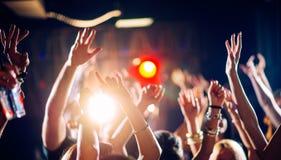 вектор людей партии иллюстрации градиентов Стоковое Изображение RF