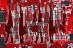 вектор людей jpg иллюстрации дела Стоковое Фото
