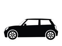 вектор 2 автомобилей малый Стоковые Изображения