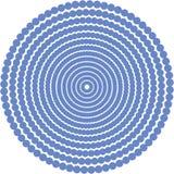вектор 2 текстур основанного круга иллюстрация штока