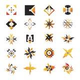 вектор 21 иконы элементов Стоковое Фото
