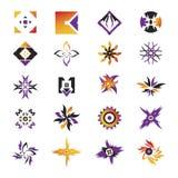 вектор 23 икон элементов Стоковая Фотография RF