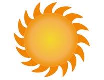 Вектор 3 Солнця Стоковые Фотографии RF