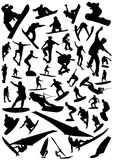 вектор 4 спортов собрания доски Стоковое Фото