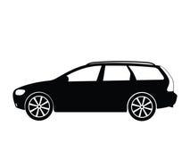 вектор 5 автомобилей Стоковое Изображение