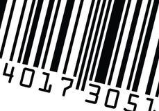 вектор barcode близкий поднимающий вверх Стоковое Изображение RF