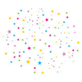 вектор confetti Стоковое Фото