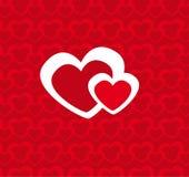 вектор corazones Стоковая Фотография RF
