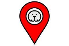 Вектор dsign логотипа положения собаки бесплатная иллюстрация