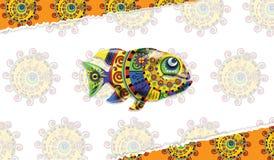 8 вектор eps изолированный рыбами Стоковая Фотография