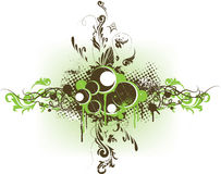 вектор grunge знамени декоративный Стоковые Изображения RF