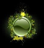вектор grunge кнопки Стоковое Изображение RF