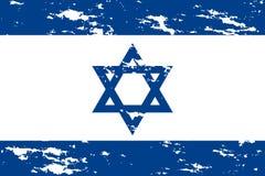 Вектор grunge флага Израиля бесплатная иллюстрация