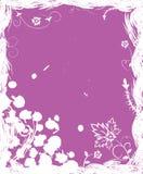 вектор grunge цветка элементов конструкции предпосылки Стоковая Фотография RF
