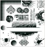 вектор grunge элементов конструкции Стоковые Фотографии RF