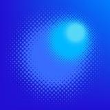 вектор halftone влияния иллюстрация вектора