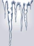 вектор icicles Стоковое Изображение RF