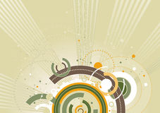 вектор illust цвета предпосылки Стоковая Фотография
