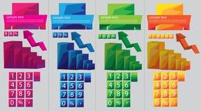 Вектор Infographic стоковая фотография rf