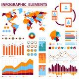 Вектор infographic. Eps 10 Стоковое Изображение