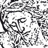 вектор jesus Стоковое Изображение RF