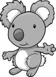 вектор koala иллюстрации медведя бесплатная иллюстрация