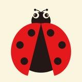 вектор ladybug иллюстрации Стоковое фото RF