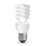 вектор lightbulbs иконы Стоковая Фотография