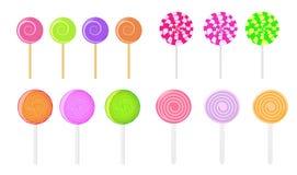 вектор lollipops Стоковая Фотография RF