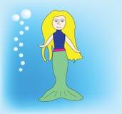 вектор mermaid Стоковые Изображения RF