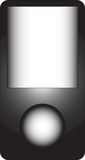 вектор mp3 плэйер Стоковое фото RF