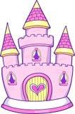 вектор princess иллюстрации замока иллюстрация штока