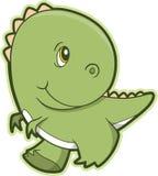 вектор rex t динозавра Стоковые Изображения RF