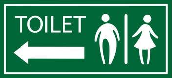 Вектор signage туалета Стоковая Фотография