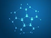 вектор social сети 10 средств eps соединения принципиальной схемы бесплатная иллюстрация