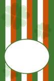 вектор st patrick s приветствию дня карточки Стоковая Фотография RF