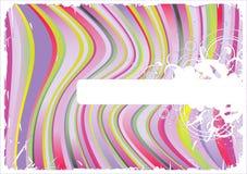 вектор striped предпосылкой Стоковое Фото